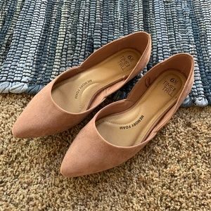 Time and Tru women's pink cream flats size 6.5